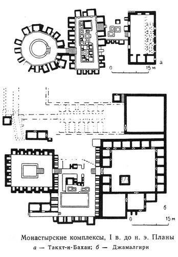 Монастырские комплексы Такхт-и-Бахан и Джамалгири