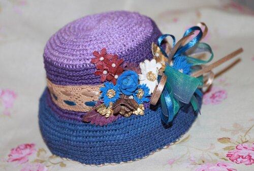 Шляпка для куклы своими руками мастер класс подробно #10