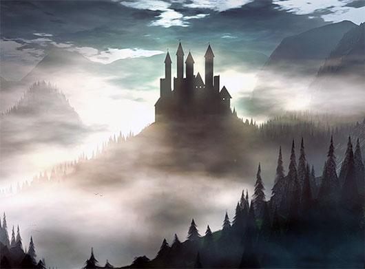 Замок волшебника Бобо. Сказка на ночь. Мрачный замок