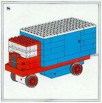 Схема машины с прицепом из лего