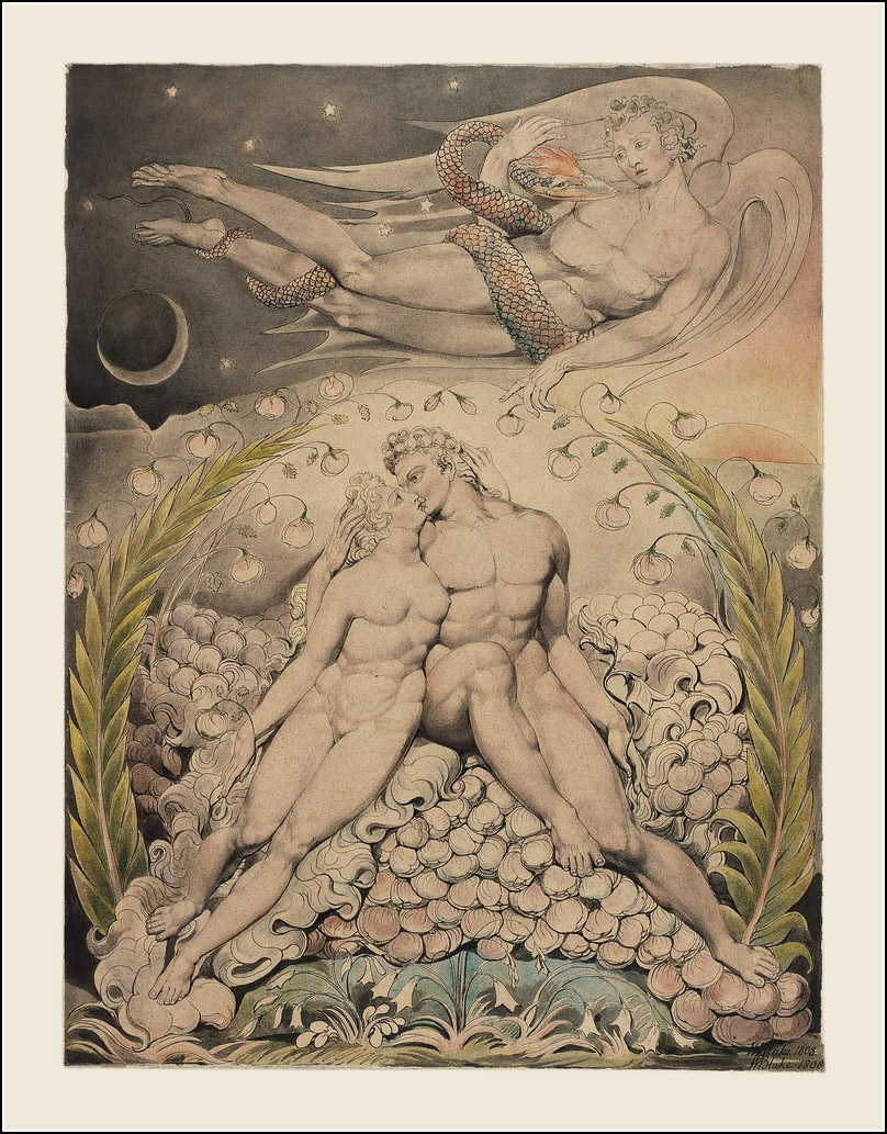William Blake, John Milton, Paradise Lost