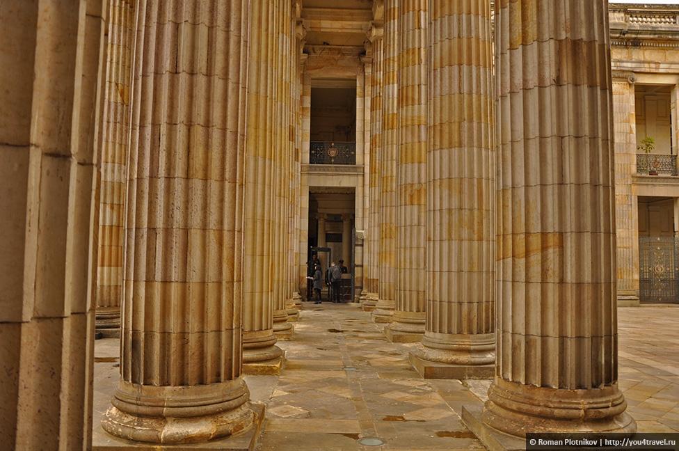 0 191991 2f95e92d orig День 209 211. Парламент Колумбии в Боготе, Национальный музей и Президентский Дворец