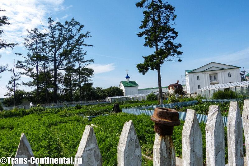 Посольский монастырь: Забор монастырского огорода