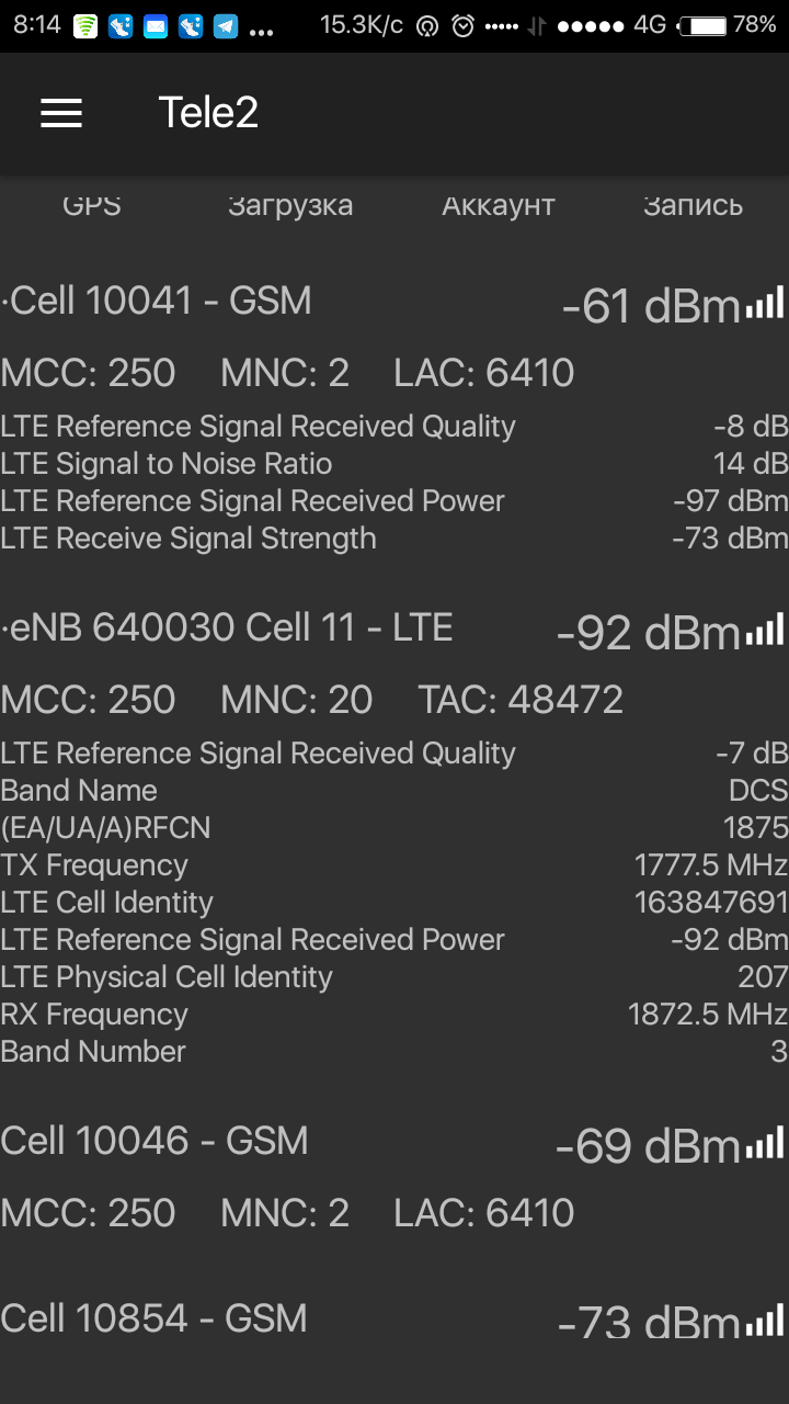 Tele2 LTE 1800 Саратов