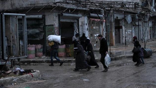 Армия Асада обстреляла медицинский конвой вАлеппо: есть раненые