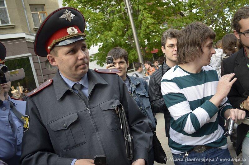 Михаил Шаповалов и его 'пiдрахуй', Саратов, 06 мая 2013 года