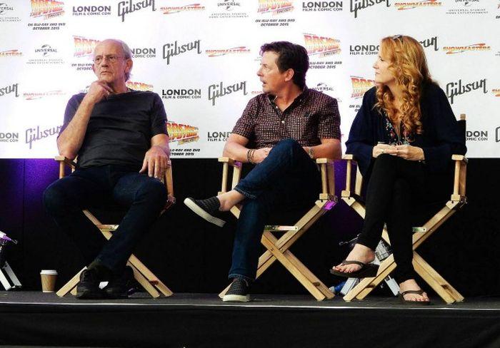 На фестивале Comic Con состоялась встреча звезд фильма Назад в будущее