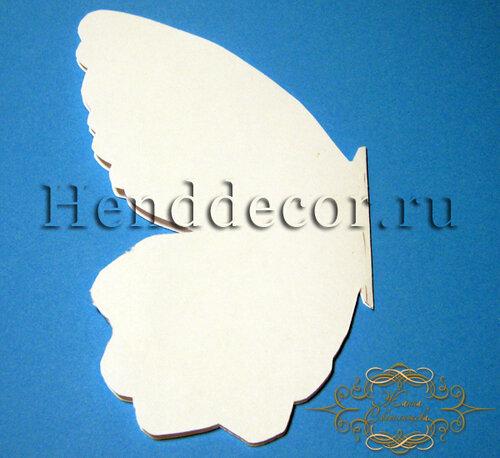 Открытка бабочка