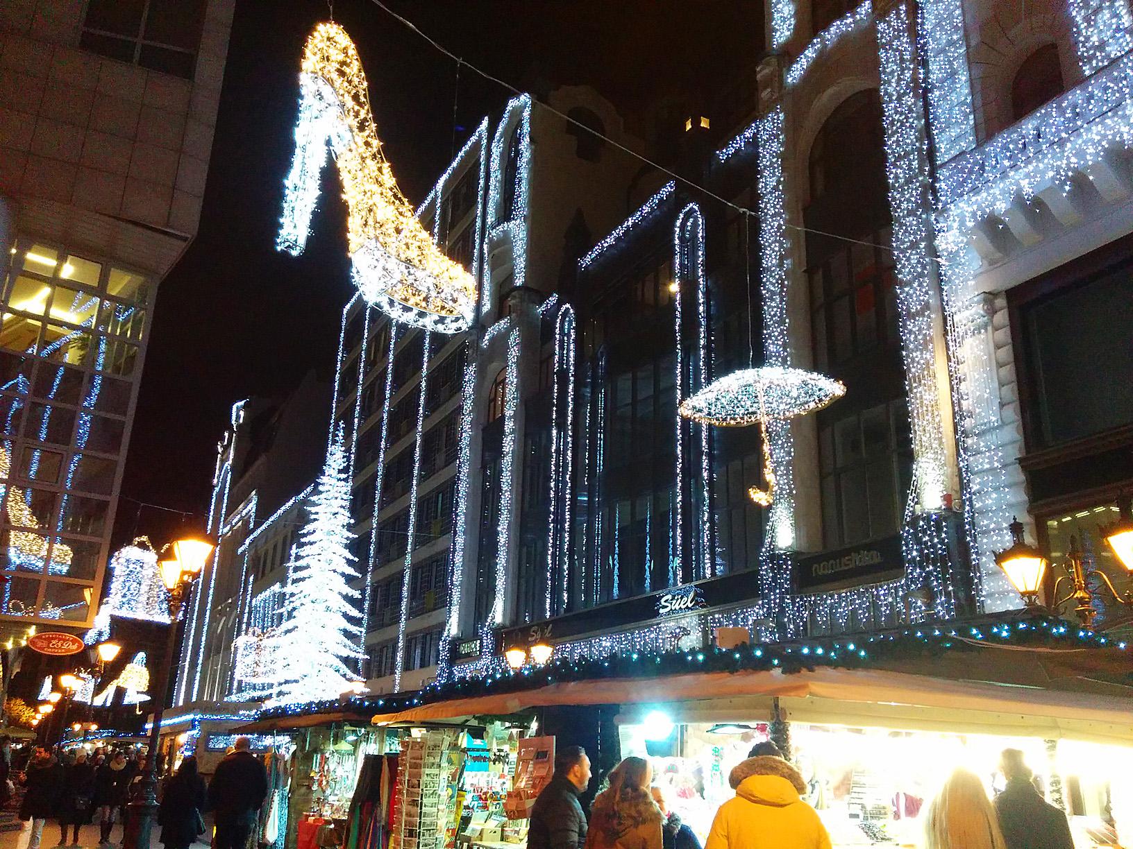 Рождественский Будапешт!