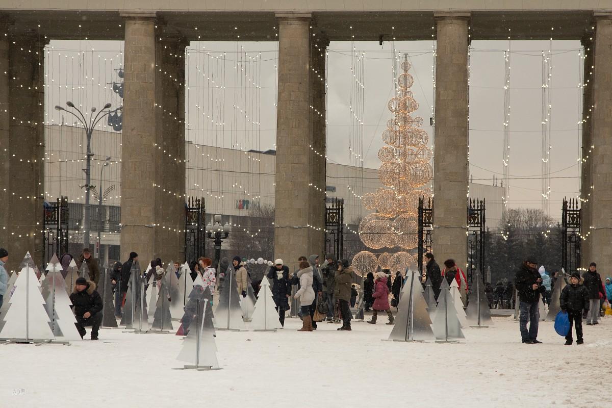 Парк Горького 2013-01-05