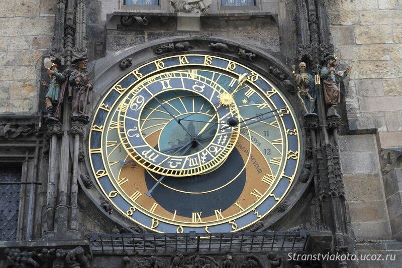 Прага, Часы Орлой