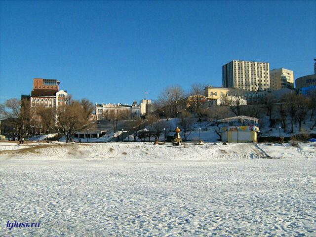 lglusi.ru  Владивосток, зима, Спортивная набережная