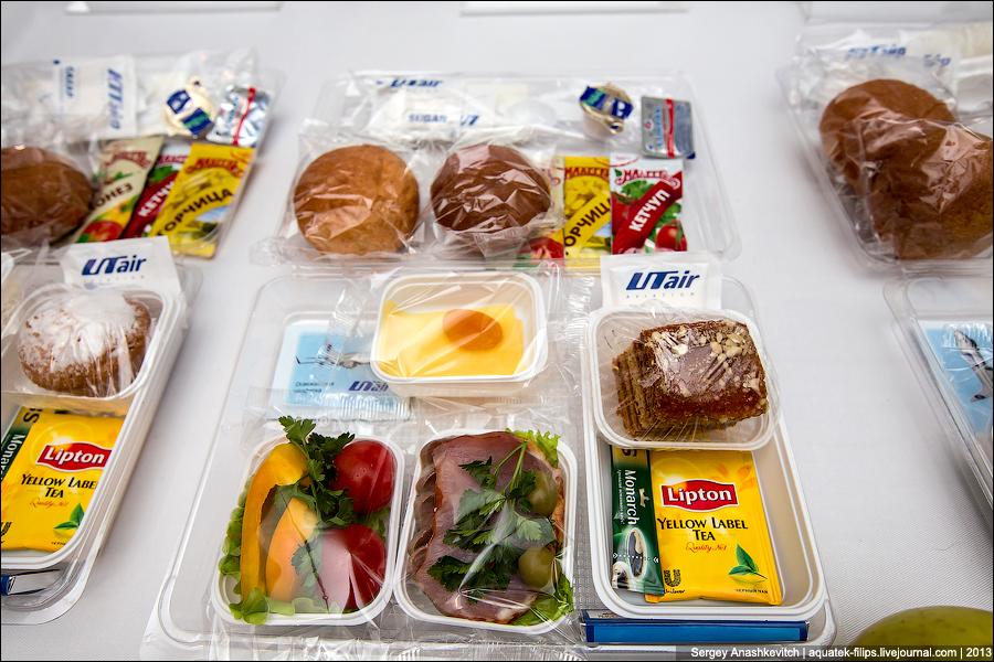Еда в самолете. Как это сделано?