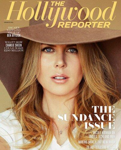 Nicole Kidman / Николь Кидман в журнале The Hollywood Reporter, 25 января 2013 / фотограф Ruven Afandor