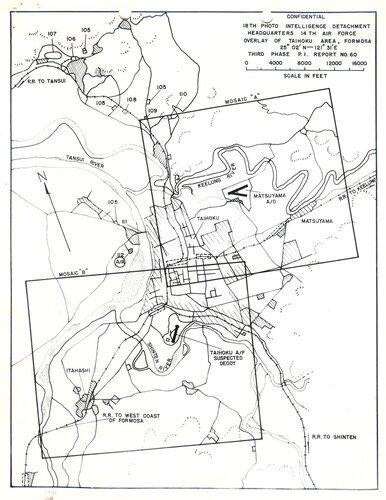 Sketch of Taihoku and outskirts, 1944