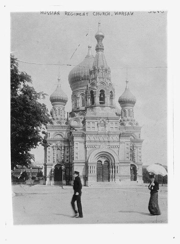 Russian regiment Church, Warsaw.