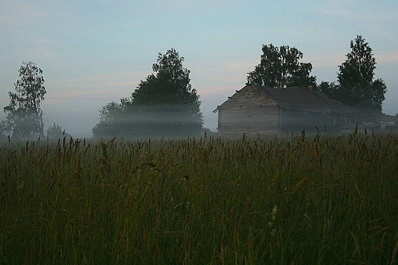 Кучепалда вечер туман
