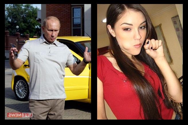 Саша Грей Twitter: Вова Путин и Саша Грей.