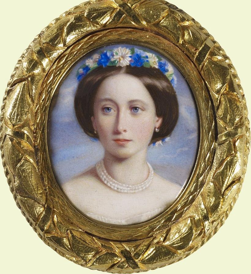 Уильям Чарльз Белл (1831-1904) Принцесса Алиса, позже Великая княгиня Гессен (1843-78) 1858