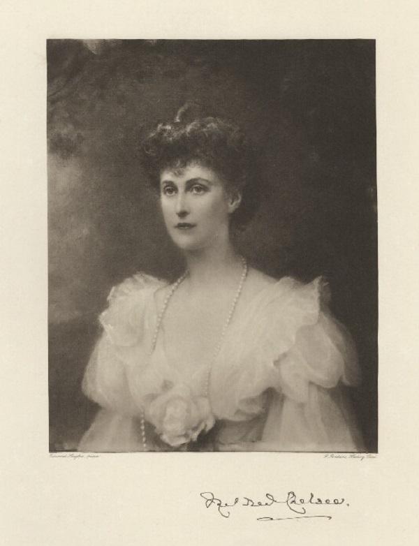 Милдред Сесилия Харриет <br />  Фредерик Джон Дженкинс после  фотогравитации Эдварда Хьюза после 1892 г