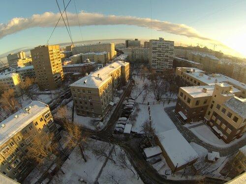 Снежный двор