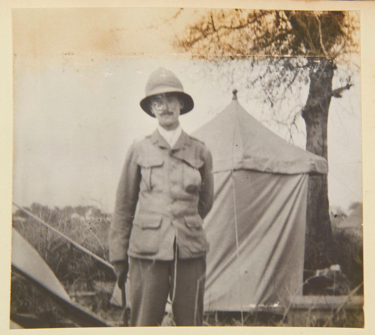 Август 1898. Полковник Джон Стюарт-Мюррей, 8-й герцог Атолл (1871-1942) тогда Маркиз Туллибардин, Королевская конная гвардия