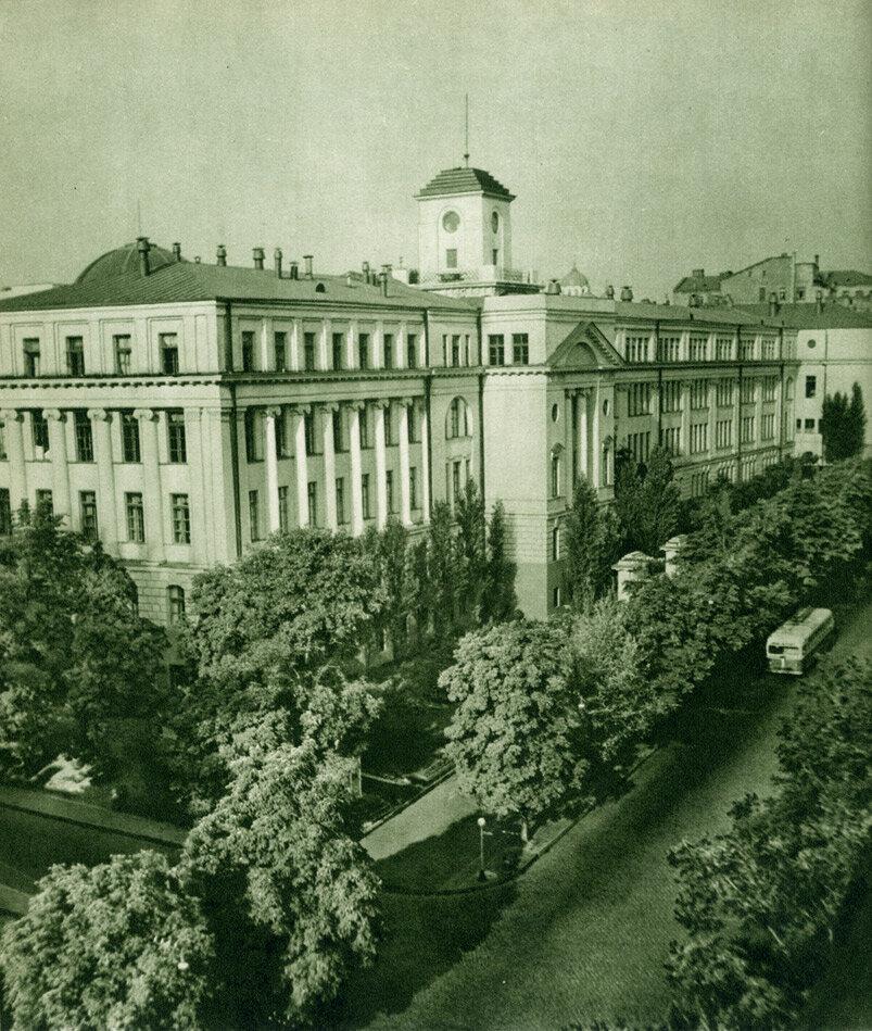 Будинок Академії наук УРСР на вулиці Леніна
