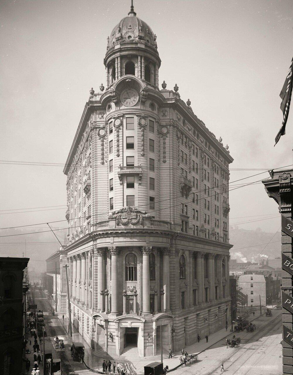 Станция Уобаш, Питтсбург, примерно 1905 г.