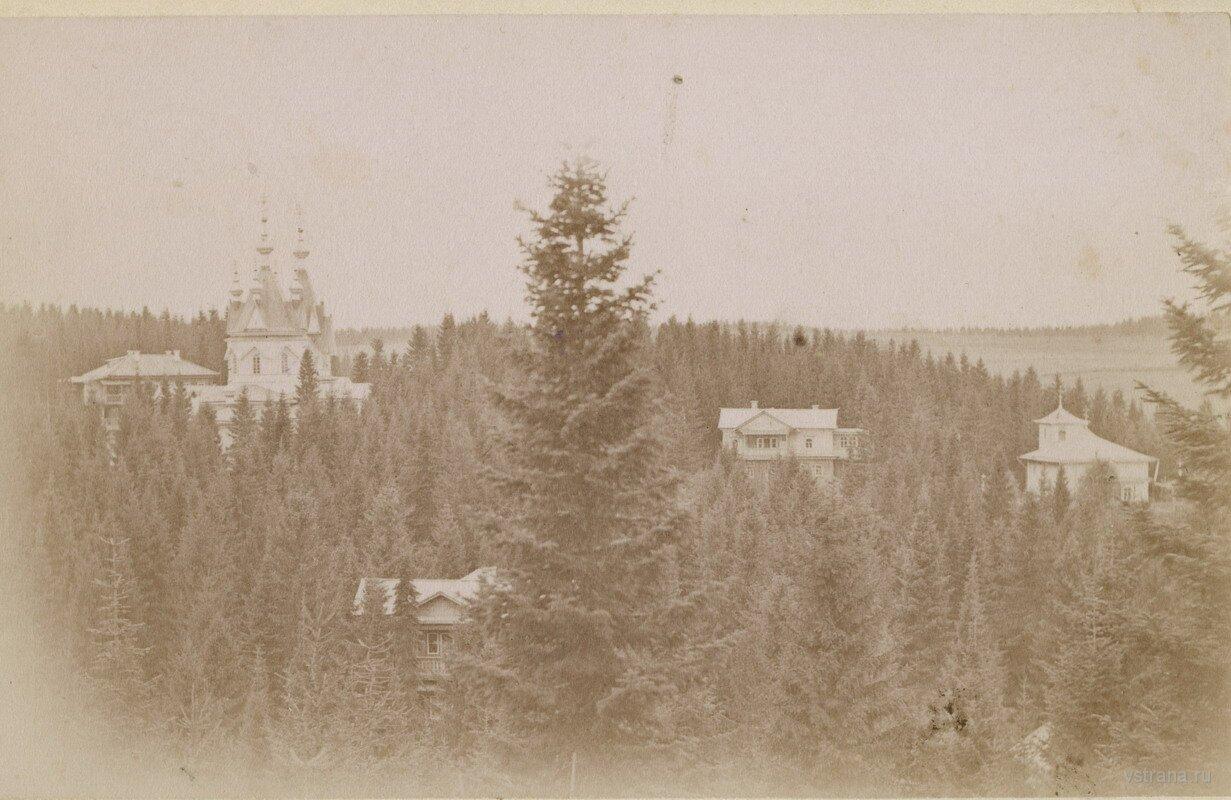 Филейский монастырь. Вид с Большой горы.