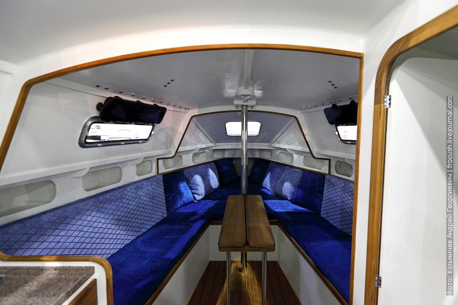 Парусная яхта «Донской лодочной компании»
