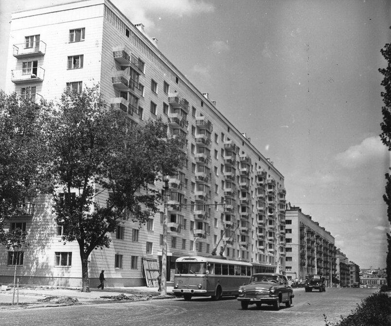 1966. Бульвар Леси Украинки. Фото: Плаксин М.