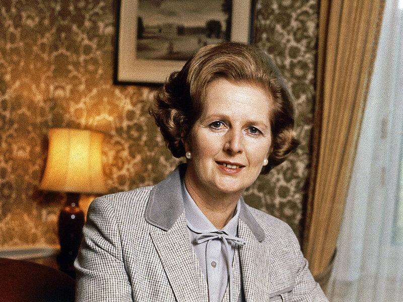 Margaret Thatcher  British Prime Minister   Posing   Portrait