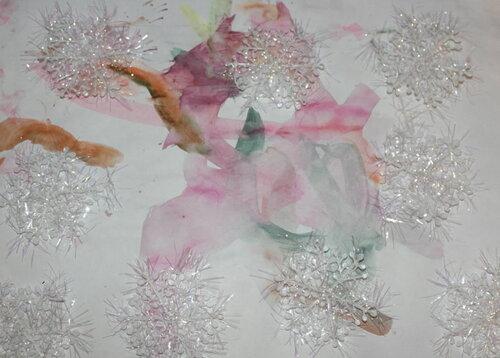 Выставка-конкурс детского рисунка! Танец снежинок на рассвете