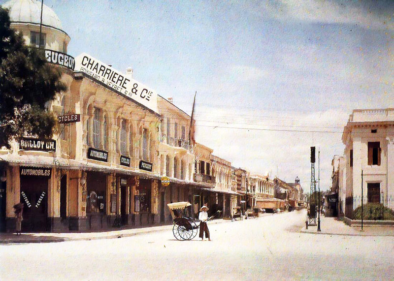 1914-15 Rue Paul Bert Hanoi2.jpg