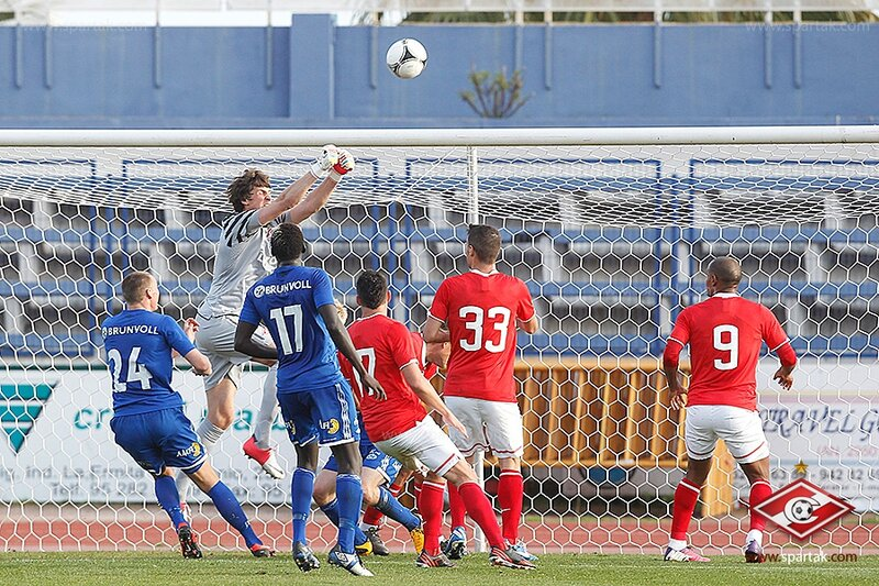 «Спартак» vs «Мольде» 2:0 контрольный матч 2013 (Фото)
