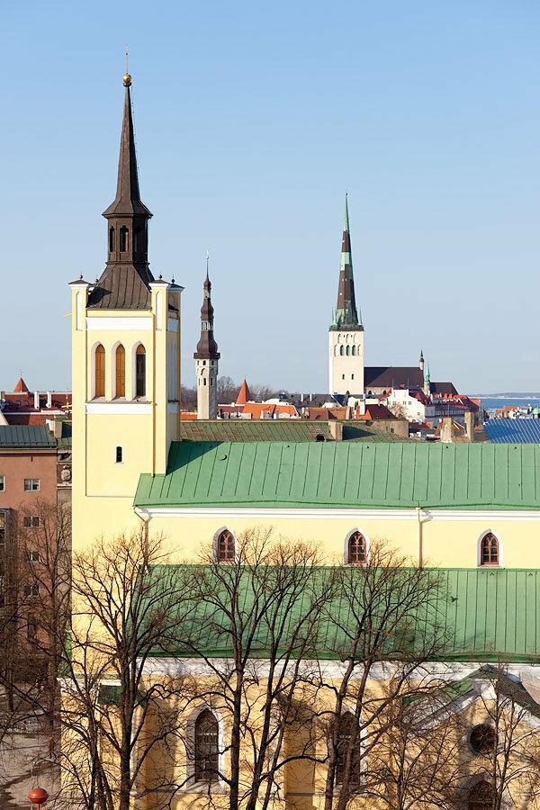 Таллинн ранней весной