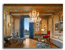 Италия. Флоренция. The St. Regis Florence. Royal Suite Gioconda - Living Room