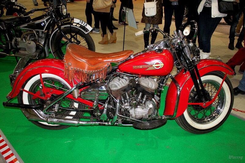 Американский мотоцикл Harley-Davidson WL-38 1938 г.в.
