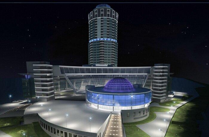 Эскизный проект Демидов-плаза.