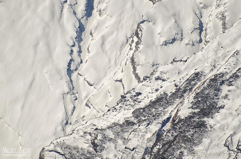 снежные склоны Гималаев, непал, анапурна