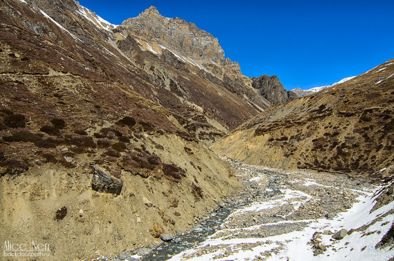 горы, непал, гималаи, горная река
