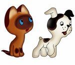 котёнок  Гав  и   собачка.jpg