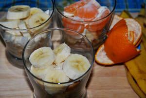 Фрукты и ягоды для десерта Трайфл