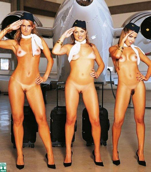Голые стюардессы фото бесплатно