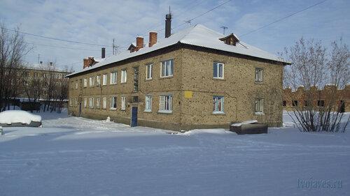 Фото города Инта №3805  Юго-западный угол Чернова 6 19.02.2013_13:06