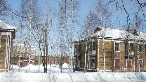 Фото города Инта №4036  Юго-западный угол Кирова 30 25.03.2013_12:09