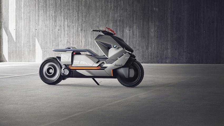 БМВ представила концептуальный мотоцикл Motorrad Concept Link