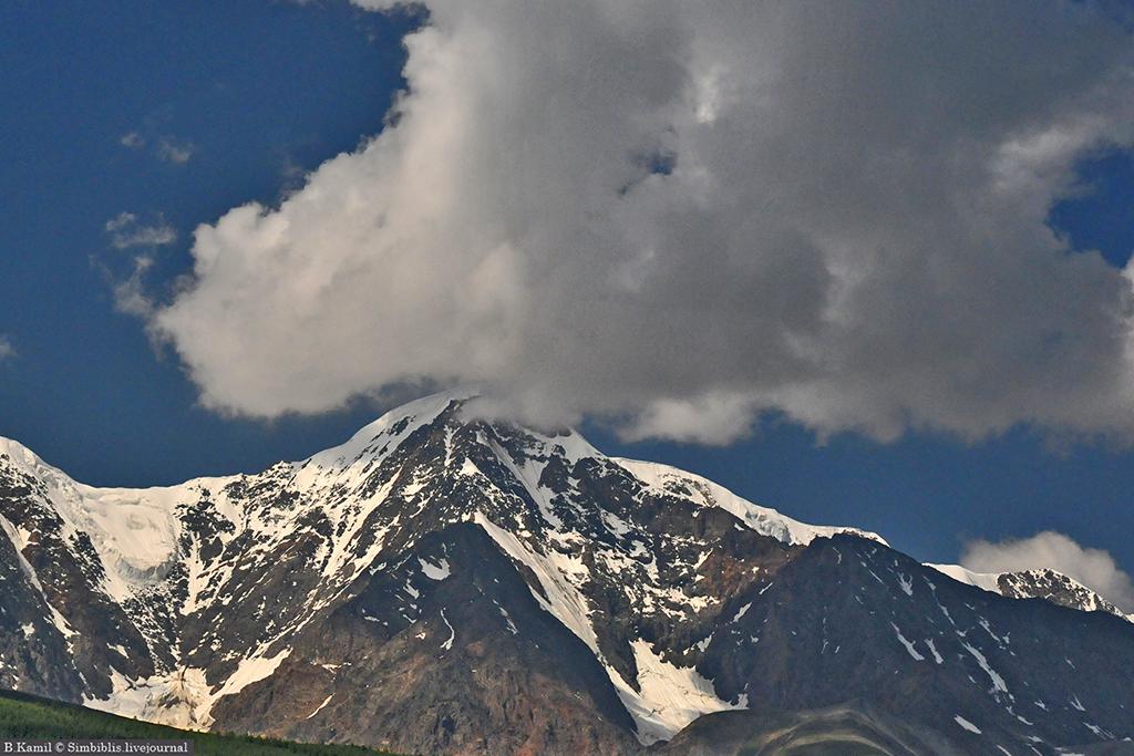Курайская степь и ледники Актру