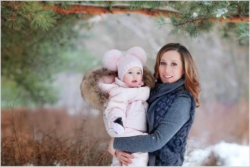 Семья фото красивые фотографии зима, елены райчик картинках