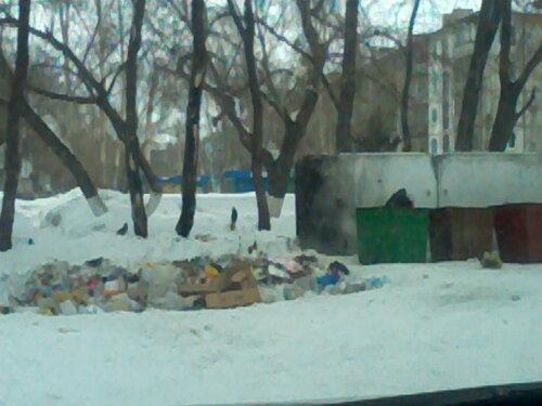 Свалка мусора «разрешена»!